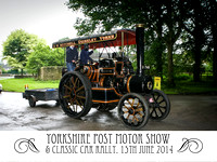 The Yorkshire Post Motor Show & Classic Car Rally. 2014