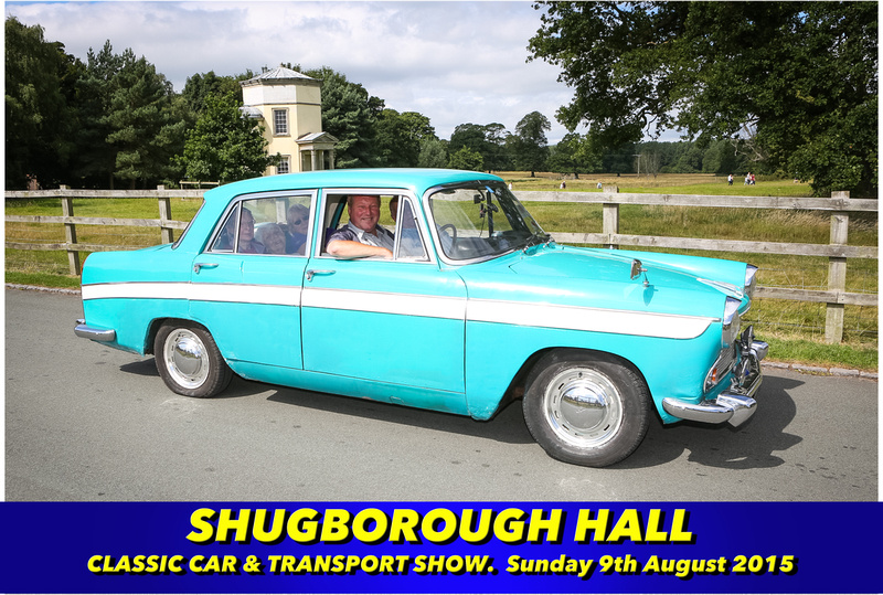 Shugborough Classic Car Show
